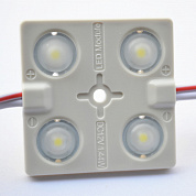 Модуль с линзой SMD 2835-4Led 12V IP65 white